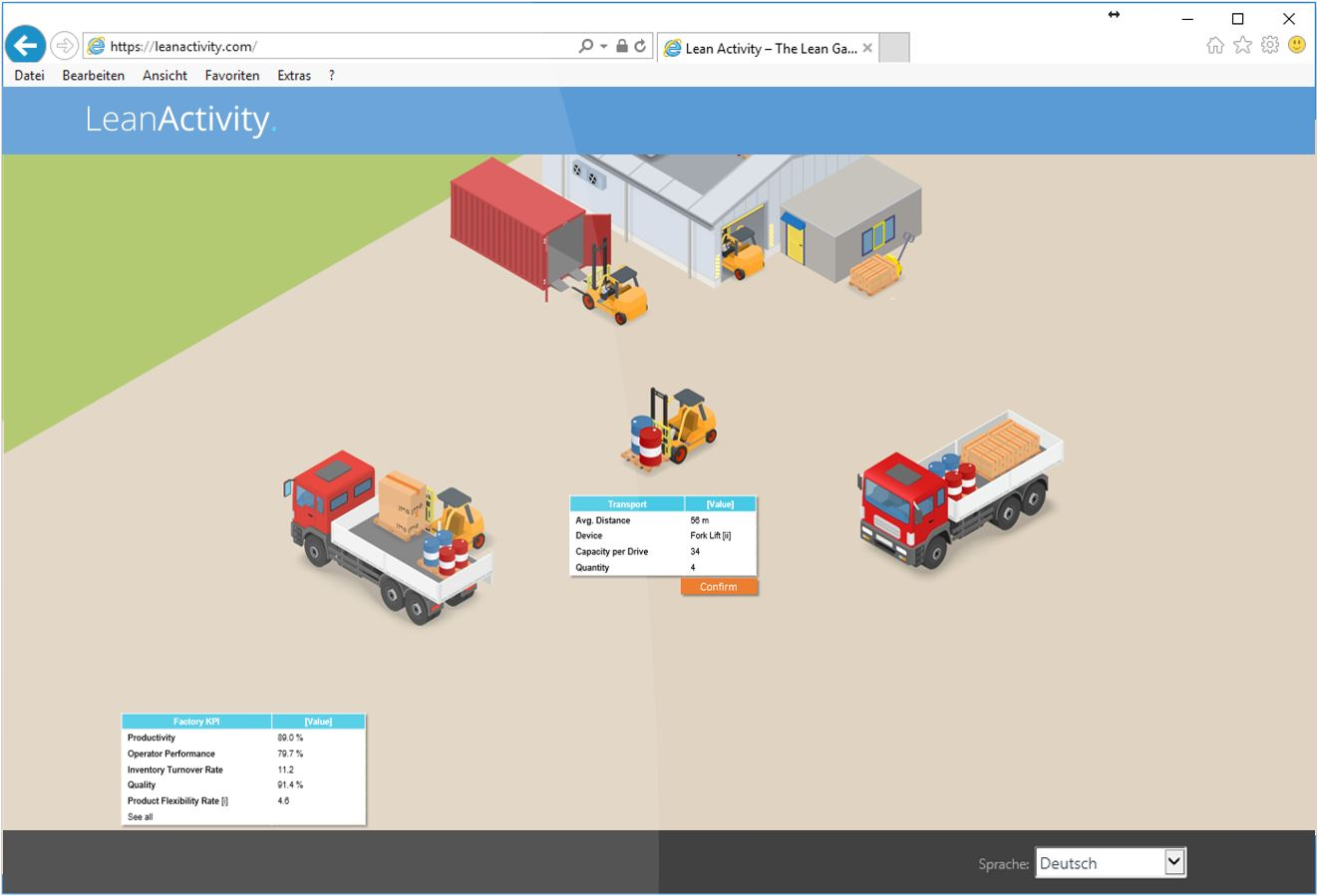 Factory Game Example