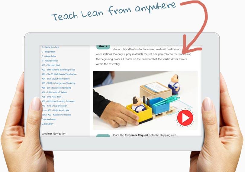 Teach Lean from anywhere